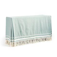 Tassel Serving Tablecloth | Ballard Designs