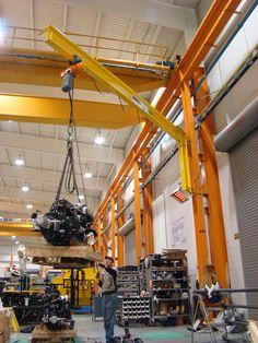 Wall-Mounted Jib Cranes |Spanco