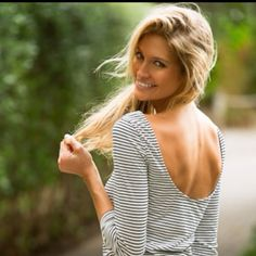 love low backs and stripes..so cute!