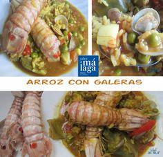 La cocina malagueña-Alsurdelsur: Arroz con galeras