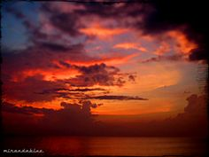 Miranda shared two beautiful sky shots in this post and many other gorgeous shots throughout her blog.