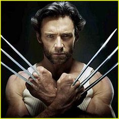 """HUGH JACKMAN - starting adore him since watching """"X-MEN ORIGINS"""" . I found an interesting shocking fact that he married a women 13 years older than him and now they have happy family with 2 children. and he don't smoke !"""