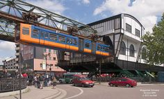 Wuppertal Schwebebahn at Oberbarmen