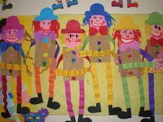 Preschool Circus, Circus Crafts, Carnival Crafts, Kids Carnival, Carnival Costumes, Preschool Crafts, Kid Crafts, Circus Theme Classroom, Theme Carnaval