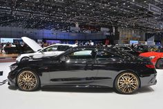 Brabus 850 6.0 Biturbo Coupe at the 2015 Geneva Motor Show, S63 ...