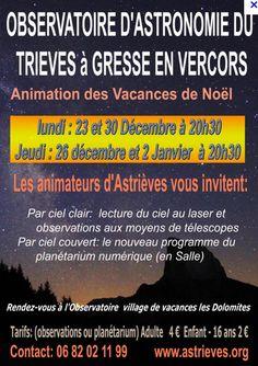 Les animations d'Astrièves (décembre 2013)