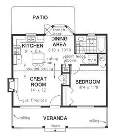 Small Hunting Cabin Floor Plans Compact And Spacious