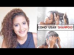 Lavando - Técnica - Lavando com shampoo