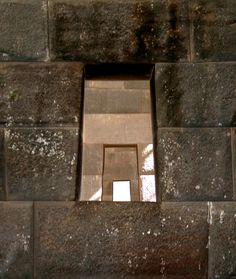 Inca Window - , Cusco  Username: mimi  Shape, squares