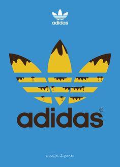 Adidas Logo Chocolate by Danijel Žganec