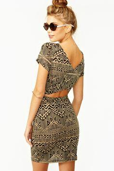 I love cutout dresses!