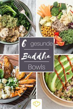 Kennst du schon den gesunden Trend aus den USA, der eine Schale voller gesunder Leckereien in den Mittelpunkt stellt? Buddha Bowls sind gesund, lassen sich flexibel an deinen Lebensstil anpassen und sehen mit ihren kunstvoll arrangierten Komponenten einfach toll aus