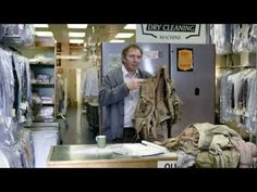 In a new ad for the Land Rover, a dry cleaner sees the fallout from the adventurous spirit of his well-traveled, 4X4-driving clientele.