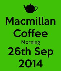 macmillan coffee morning - Google Search