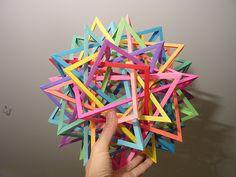 Origami Tetrahedra