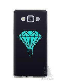 Capa Capinha Samsung A7 2015 Diamante Azul - SmartCases - Acessórios para celulares e tablets :)