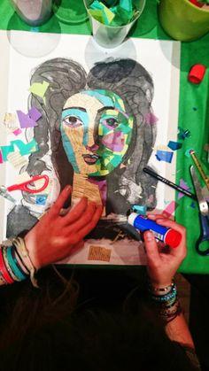 """NOCHES DE LA CULTURA JÓVEN """"Retrato collage"""" sábado 5 de abril en la Fundación Picasso Museo-Casa Natal Los participantes conocieron un poco más la obra de Picasso visitando la Casa Natal y disfrutaron, además, de un taller de retratos de Picasso en collage. ¡Gracias a los asistentes por su participación!"""