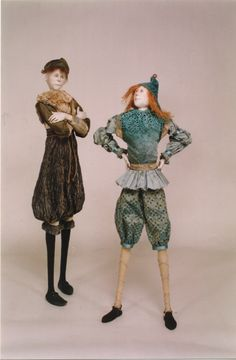 Marlaine Verhelst, Long legged standing dolls