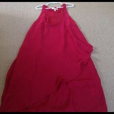 Dress Two tiered red dress new w/o tags Urban Outfitters Dresses Mini