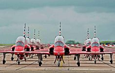 The Red Arrows, June 2014
