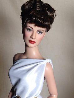 "Ava Gardner in ""One Touch of Venus"" #tonner #repaint #dollchat #repin by Shannon Craven @Shannon Bellanca Bellanca Craven ^kv"