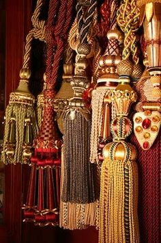 You can never have too many tassels. Hang one, hang two, hang them all-any way looks fabulous!