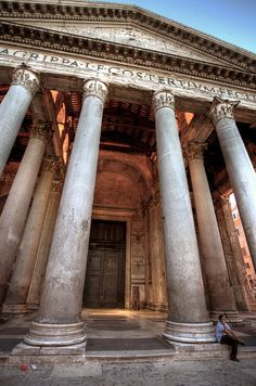 #Pantheon, #Rome, #Italy | by PeterJot, via Flickr