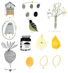 Food things. A selection of images for the cookery book | Katt Frank