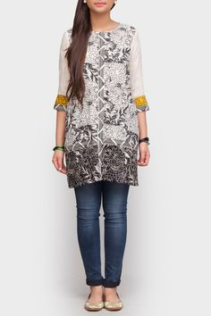 Loose Cut Embroidered Tunic - Generation