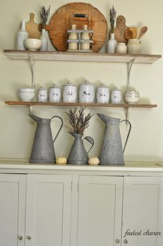 Faded Charm: ~Open Shelving~