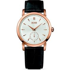 HUGO BOSS Ultra Slim Chronograph Watch, 31mm ($295) ❤ liked on Polyvore