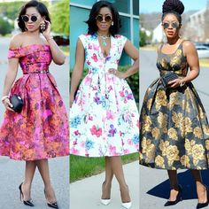 4 Factors to Consider when Shopping for African Fashion – Designer Fashion Tips Ankara Dress Styles, African Print Dresses, African Print Fashion, African Dress, Look Fashion, Fashion Outfits, Dress Outfits, Dress Up, Fashion Styles
