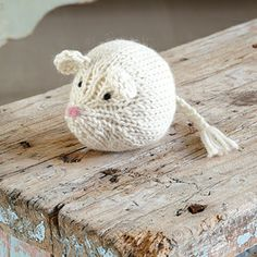 knit a mouse - free pattern