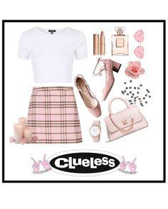 Cher Horowitz's outfit ideas ? Cher Horowitz's outfit ideas ? Adrette Outfits, Tv Show Outfits, Preppy Outfits, Girly Outfits, Fashion Outfits, Cher Clueless Outfit, Clueless Fashion, 80s Fashion, Kawaii Fashion