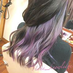 染めたてから1.5ヶ月後の状態。 このベースを生かし更に育てていけると、個性的な髪色にできます。 #Hanaカラー #ブリーチ #ホワイトブリーチ #派手髪 #ヘアカラー #haircolor #カラフル #colorfulhair #デザインカラー #designcolor #ヘアスタイル #hairstyle #マニックパニック #manicpanic #エンシェールズ #ロコル #ロイド #グラデーションカラー #gradationcolor #インナーカラー #innercolor Under Hair Dye, Under Hair Color, Hidden Hair Color, Pretty Hair Color, Hair Streaks, Aesthetic Hair, Brown Blonde Hair, Dye My Hair, Doll Hair
