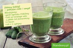 Zielony koktajl - pobudza ciało i umysł