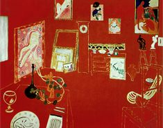 The Red Room, Henri Matisse (1908)
