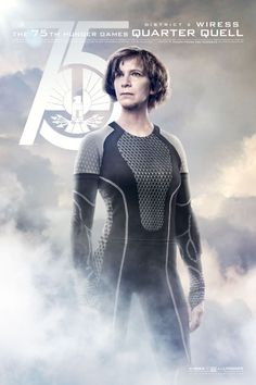 Catch Your Breath: The New 'Hunger Games: Catching Fire' Posters Are Here!: Amanda Plummer as Wiress