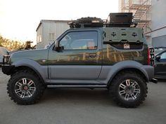 Тюнинг Suzuki Jimny для охотников и разведчиков. Видео - Ex-RoadMedia.Ru – портал обо всем, что связано с offroad. Фото и видео с соревнований по трофи-рейдам, ралли, квадроциклетному спорту, путешествий.
