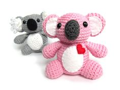 Koala Crochet Pattern: Instant Download -PDF-
