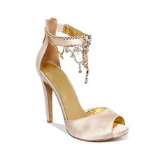Brides: Rose Gold Wedding Shoes