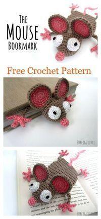 Amigurumi Mouse Bookmark Free Crochet Pattern