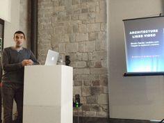 """Disfrutamos mucho de la clase magistral de Simón García de Arqfoto sobre """"Architecture likes Video"""" en 48H Open House Barcelona.  Enhorabuena y esperamos más lecciones como está. #arquitectura #fotografia #video"""