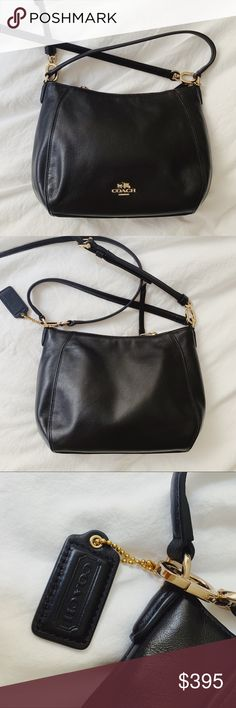 b710c4a5f05d5 Black Coach Purse Never been used like new Black crossbody bag by Coach  Features