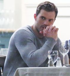 34 Sizzling Pictures of Jamie Dornan on the Set of Fifty Shades Darker
