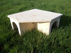 Guinea Pig/ Small Rabbit House/ Shelter/ by WoodenParadiseShop