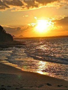 Noosa National Park at Sunset