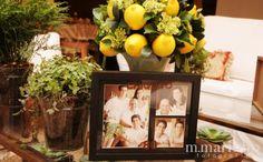 Decoração com Limão Siciliano