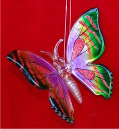 Butterfly From Heaven Personalized Christmas Ornament