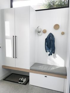 IKEA Besta hacks Interior styling The Little Design Corner Interior Styling, Interior Design, Ikea Interior, Interior Livingroom, House Entrance, Small Entrance Halls, School Entrance, Mudroom, Interior Inspiration